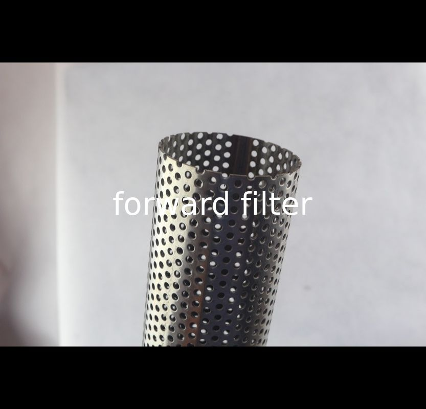 Polished Surface Perforated Muffler Tubing OEM Accepted Length  5.8 Meters